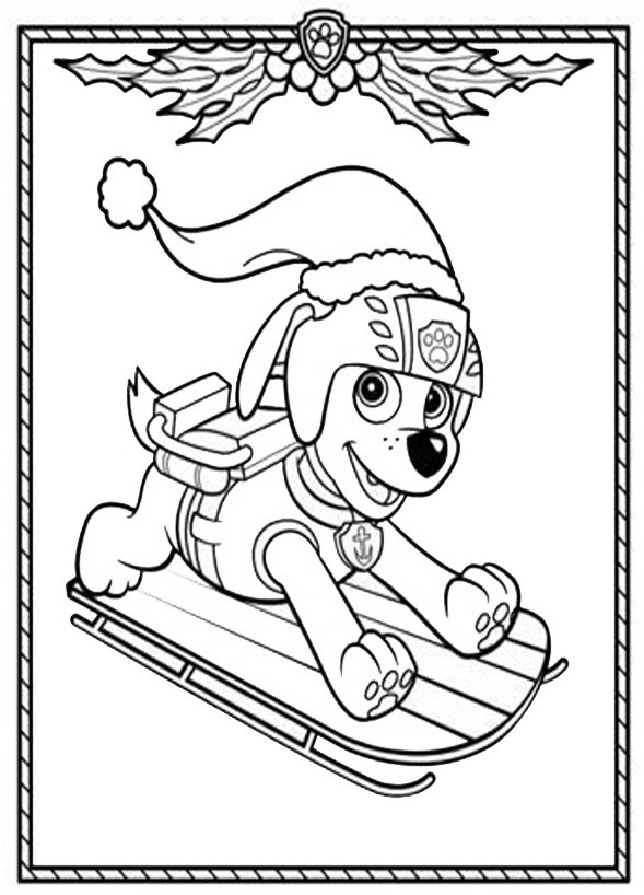 Paw patrol coloring pages of the pups coloring pages for Paw patrol disegni da colorare